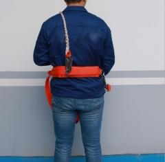 高空作业施工保险带全身式电工五点式安全带双大钩消防腰带安全绳