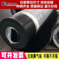 黑色耐高压绝缘胶板12mm耐磨绝缘胶板三元乙丙35kv绝缘胶板