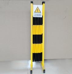 玻璃钢伸缩围栏施工绝缘伸缩围栏电力变压器护栏围栏可移动管式