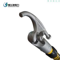 厂家生产高压绝缘伸缩令克棒10kv玻璃钢操作杆3节4米35kv拉闸杆