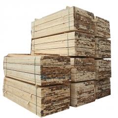 热卖白松建筑木方 白松建筑方木 户外工地口料加工 实木进口材料