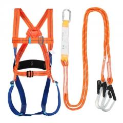 巨环高空作业安全带五点式户外施工耐磨爬杆保险带安全绳电工腰带