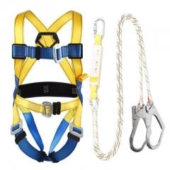 巨环高空作业安全带五点式全身式户外施工电工保险国标耐磨安全绳