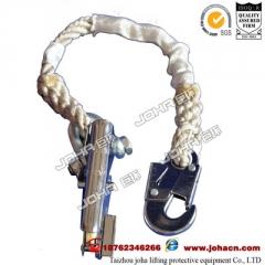 定制 钢缆抓绳器 防坠落自锁器 攀登自锁器抓绳器 钢丝绳自锁器