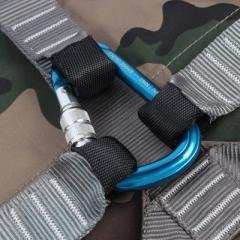 加厚电工安全带高空作业爬杆电力专用腰带围杆保险带户外施工国标