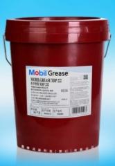 批发美,孚滑脂XHP222复合锂基润滑油脂高温黄油蓝色 16KG包邮