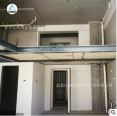 定制6公分钢结构复式夹层阁楼板 镀锌钢边框发泡水泥芯材