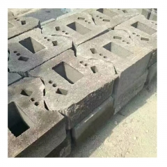 护坡砖挡土墙砌 挡土块干垒 自嵌式 劈开块 联锁块 护坡砖连锁块