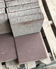 生态透水面包砖 混凝土透水烧结灰色透水砖 人行道盲道防滑铺路砖