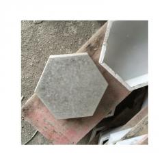 实心六角砖形广场地砖 水利河道公路护坡砖 六角护坡砖河道砖定制