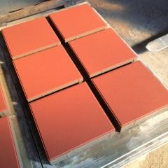 彩砖户外专用彩砖 道路盲道绿化用混凝土砖块 防滑止步砖颜色多选