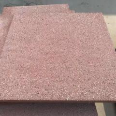 PC砖仿石芝麻灰路面砖 仿花岗岩人行道路面砖 生态石混凝土PC砖