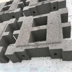 铰链式护坡砖护坡砖连锁块水利河道护坡河道护坡砖河道穿孔护坡砖