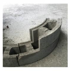 井模块 检查井砌块 井室砌块 井壁砖 检查井模块 混凝土模块砖