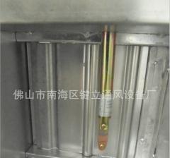 键立CCC排烟防火阀电动24V启或闭280度非标规格或特殊要求可定制 1250*200