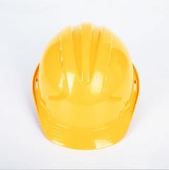 国标三筋ABS安全帽工地施工工程玻璃钢安全帽加厚高强度V型安全帽