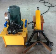 厂家直销32小型钢筋弯曲机 25液压弯曲机 单人操作40手提式弯曲机