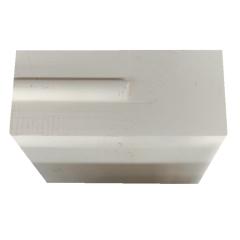 厂家直销  电熔锆刚玉砖 AZS-41Y 玻璃熔池用耐火砖价格优惠