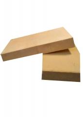 厂家直销半枚片半枚条耐火砖二分片高铝耐火砖 可定制粘土耐火砖