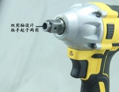 批发德优锂电无刷冲击扳手 电动扳手 风炮木工架子工专用