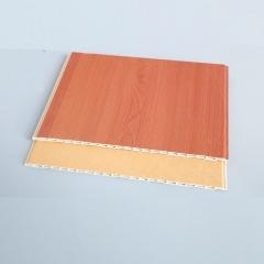 厂家供竹木纤维集成墙板 新型环保室内墙面装饰材料 PVC 墙面板