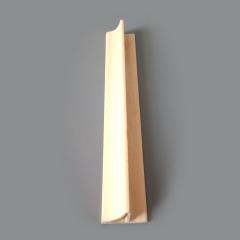 厂家直销 绿可木 防水防火防蛀 阻燃 生态木收边条 33*21天花角线