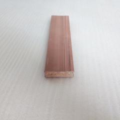 厂家直销 防水防火生态木 51*16实心方木 绿可木 新形隔断材料