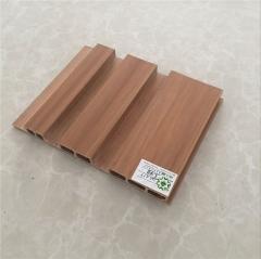 源头厂家 绿可木 防水防火阻燃 木塑室内墙板 生态木新195长城板