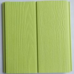 厂家直销  生态木双75浮雕板 绿可木 幼儿园墙裙 墙面护墙板