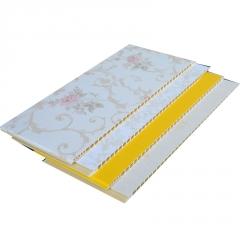 厂家直销 PVC墙板  集成墙板  石塑护墙板椭圆孔60cm宽7.5毫米厚