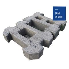 河南厂家直销 多种尺寸颜色施工方便 免费拿样 生态护坡砖 水工砖