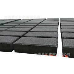 厂家直销建菱砖 现货充足市政人行道广场景观免费拿样 彩色透水砖