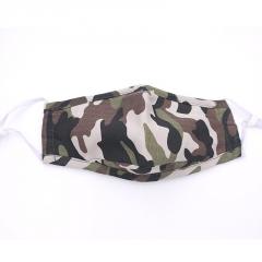 新款冬季专用口罩成人活性炭防雾霾纯棉迷彩口罩防尘批发厂家直销