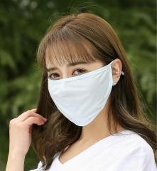 夏季防晒防尘口罩透气新款冰丝遮阳面罩防紫外线女式骑行口罩批发