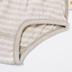 夏季儿童彩棉透气三角裤男女童纯棉网眼内裤宝宝底裤中小童短裤