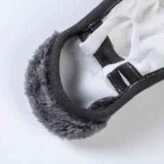 新款二合一冬季纯棉护耳套男女时尚骑行保暖口罩加厚防风蕾丝口罩