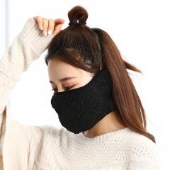 新款口罩冬季保暖护耳二合一户外滑雪骑行口罩头套防风面罩批发