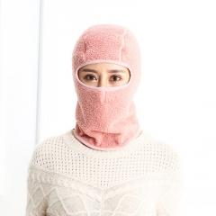 新款三合一口罩冬季户外骑行口罩保暖全脸防风头套面罩加厚风雪帽