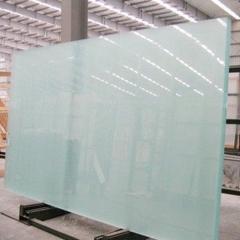 厂家直销供应 蒙砂玻璃异型钢化 切割 精磨边 蒙砂玻璃 定制加工