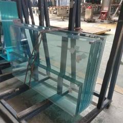 厂家供应精密加工钢化玻璃5-19MM, 超白钢化玻璃磨边 耐高温玻璃