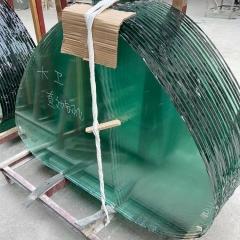 厂家直销供应异型钢化玻璃5-15MM钢化,精磨钢化,来图专业定制