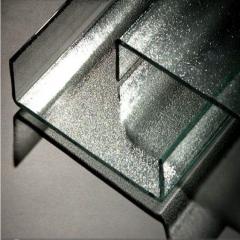 厂家直销 艺术建筑外墙装饰槽型U型中空加工定制定做超白U型玻璃