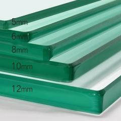 厂家直销 钢化玻璃定做 板茶几餐桌书桌圆桌台面长方形异形定制