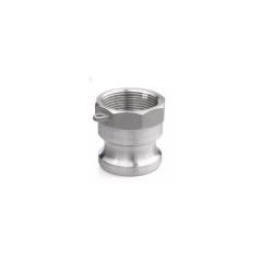 不锈钢快速接头A型 板把式快装接头 内螺纹 消防快速管接DN15-100