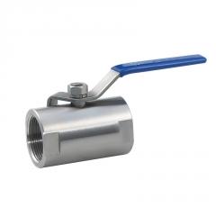 不锈钢丝口广式球阀一片式内螺纹球阀家用水管阀门开关4分6分1寸