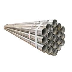 现货供应  穿线薄壁镀锌管Q235  规格4分8寸镀锌带钢管 厂家直销