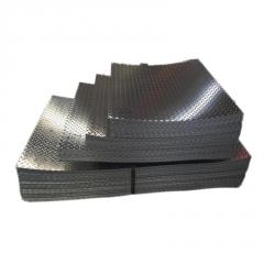 批发 镀锌花纹板 4.5*1500防滑钢板  235压花镀锌钢板 开平加工