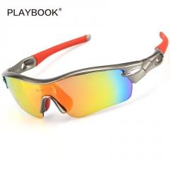 跨境 002户外偏光眼镜 运动骑行太阳眼镜 可配近视防风眼镜