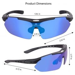 供应偏光骑行眼镜 男女户外运动护目风镜 自行车眼镜装备现货批发