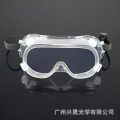 现货护目镜 多功能透明防唾沫眼镜 防飞溅抗冲击四孔防护眼镜